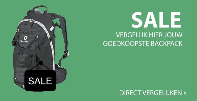 Goedkope backpack vergelijken