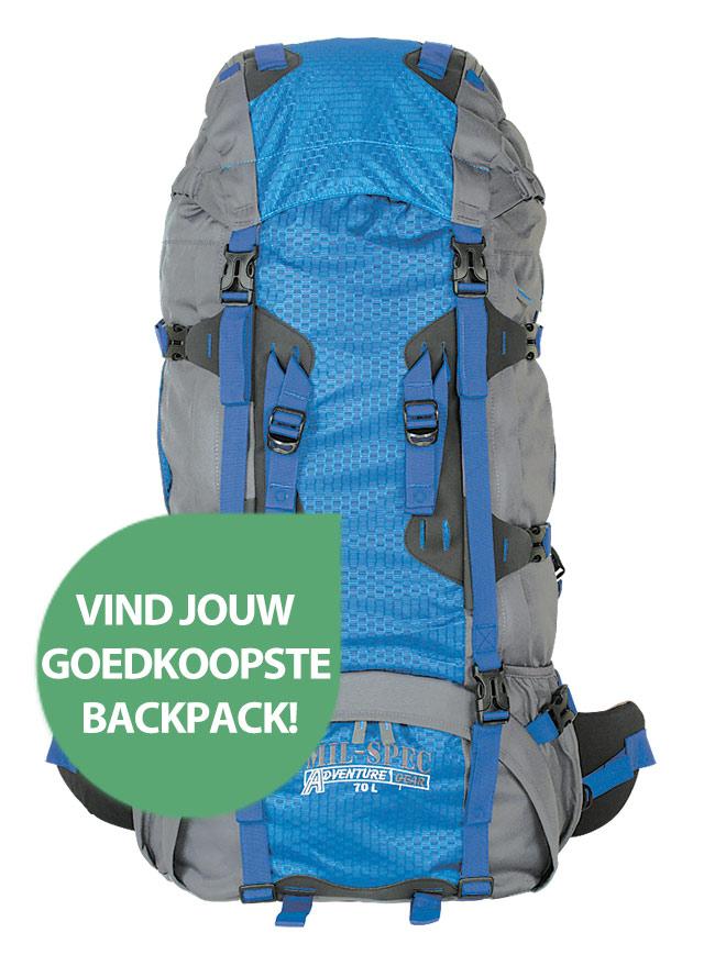 Vind jouw goedkoopste backpack